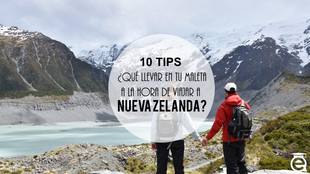 10 TIPS: ¿QUÉ LLEVAR EN TU MALETA PARA ESTUDIAR INGLÉS EN NUEVA ZELANDA?