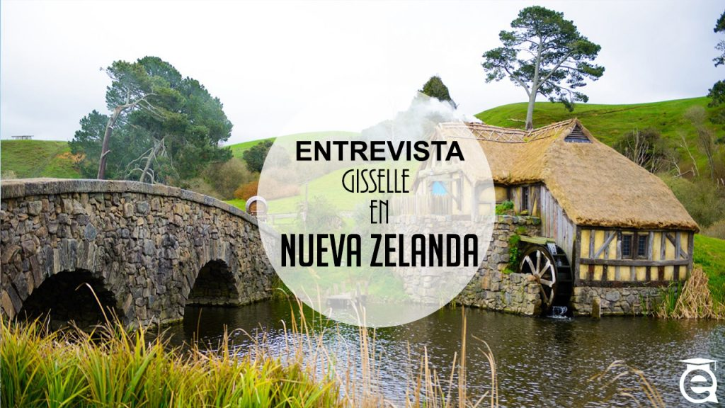 GISSELLE DE VISITA EN NUEVA ZELANDA